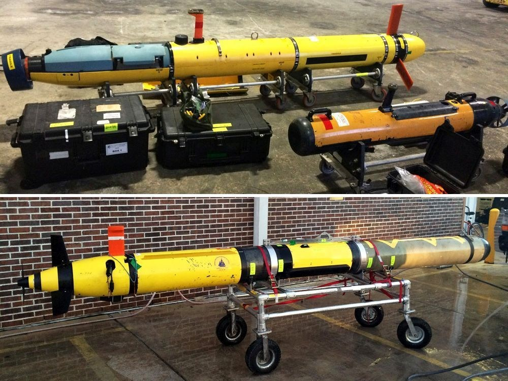 UUVs used for the AquaShield DDS sea trials - DSIT Invited to Demonstrate its Underwater Security Systems to the US Navy
