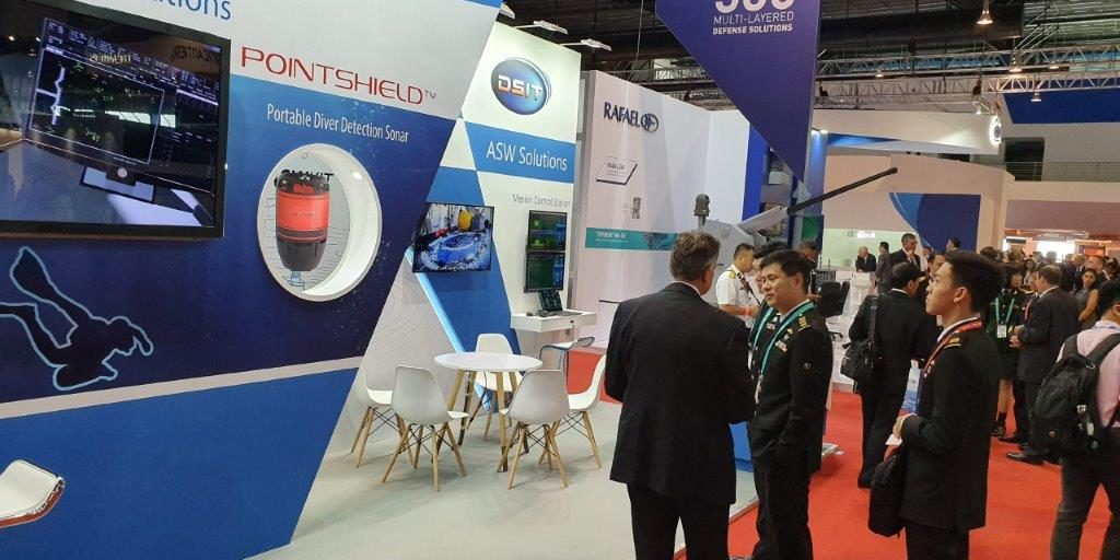 DSIT Exhibited at IMDEX ASIA 2019 exhibition