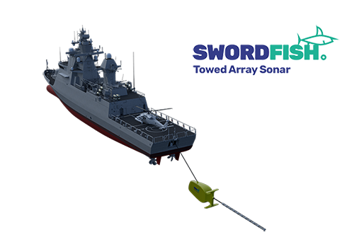 Saar Sonar Angle 033 - DSIT Solutions Ltd. to launch its new SwordFish TAS at PACIFIC 2019