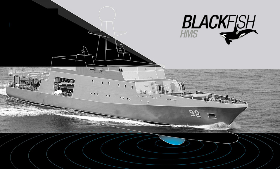 HULL MOUNTED SONAR BLACKFISH 1 - Hull Mounted Sonar (HMS) - Blackfish™